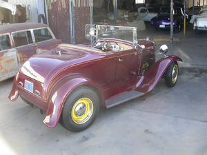 1931 ALL STEEL BLOWN V8 CALIFORNIA HOTROD SINCE 1959.SOLD For Sale (picture 2 of 6)