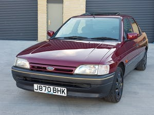 1992 Ford Orion 1.6 LX Manual. 2 Owners 47K Miles. For Sale (picture 1 of 6)