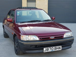 1992 Ford Orion 1.6 LX Manual. 2 Owners 47K Miles. For Sale (picture 2 of 6)