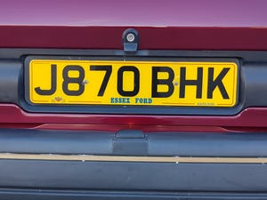 1992 Ford Orion 1.6 LX Manual. 2 Owners 47K Miles. For Sale (picture 5 of 6)