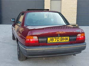 1992 Ford Orion 1.6 LX Manual. 2 Owners 47K Miles. For Sale (picture 6 of 6)