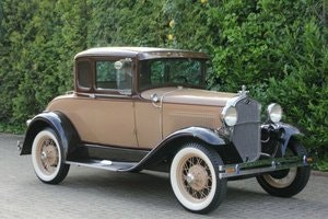 Picture of Ford Model A Deluxe Coupe, 1931 SOLD