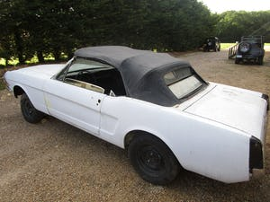 1965 Ford Mustang Convertible Project.  For Sale (picture 3 of 6)