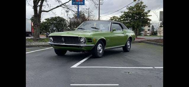 Picture of 1970 Ford Mustang  SOLD by Auction