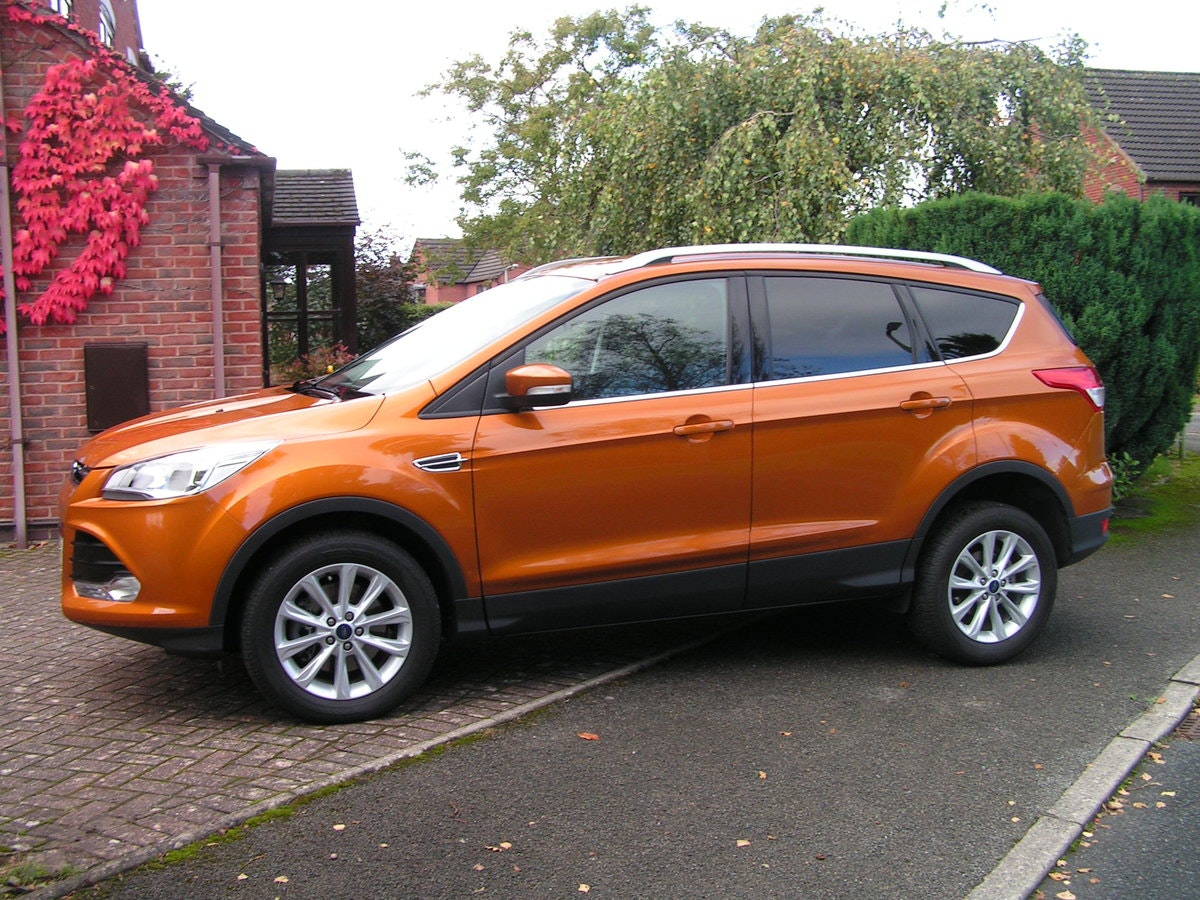 2015 Ford Kuga 2.0TDCi 180 Titanium P/shift AWD Camera SOLD (picture 1 of 6)