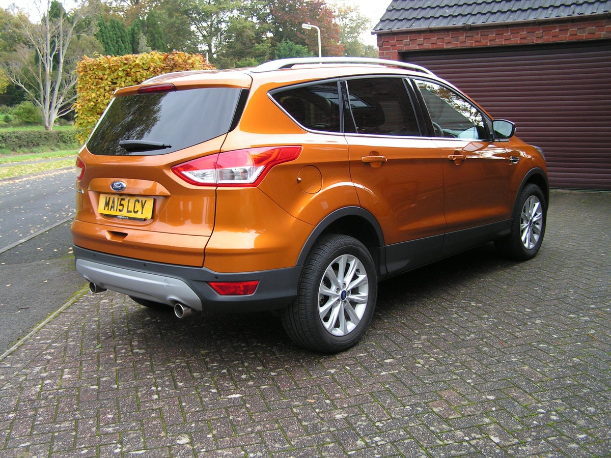2015 Ford Kuga 2.0TDCi 180 Titanium P/shift AWD Camera SOLD (picture 2 of 6)