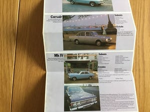1970 Ford brochure full range For Sale (picture 2 of 3)