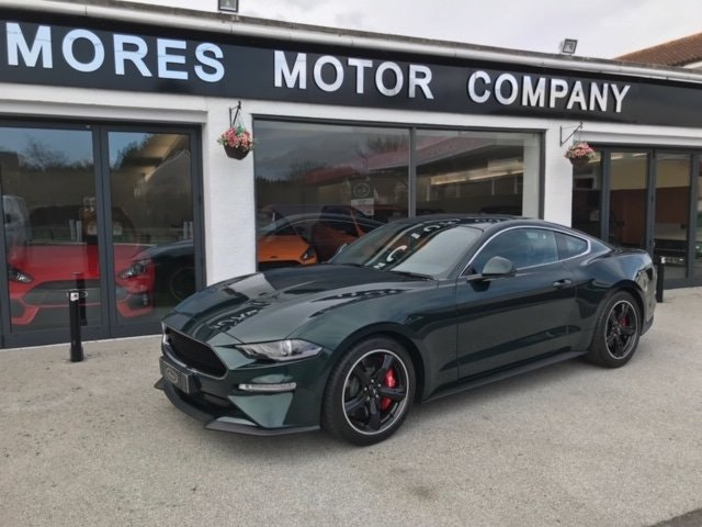 Ford Mustang Bullitt Edition 2019 1 of 300, 1,054 miles SOLD (picture 1 of 6)