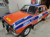 Ford Escort RS2000 FIA group 2 rally car