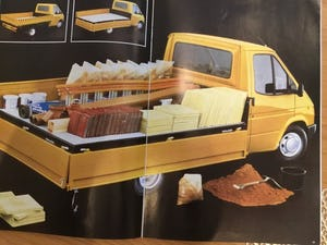 1986 Ford Transit range brochure For Sale (picture 1 of 2)