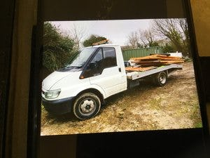 2002 Ford transit recovery truck For Sale (picture 1 of 1)