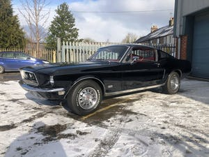 1968 FORD MUSTANG GT FASTBACK J-CODE MANUAL For Sale (picture 6 of 18)