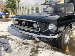 1968 FORD MUSTANG GT FASTBACK J-CODE MANUAL For Sale (picture 7 of 18)