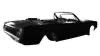 Reproduction Body Shell for Ford Mustang Convertible 1965-66