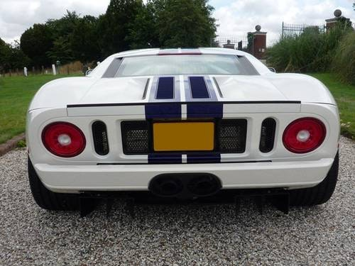2005 Ford GT - White-Blue/Blk - 1 Owner! For Sale (picture 4 of 6)