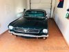 Ford Mustang 1966 in popular dark green colour