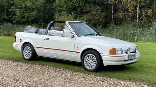 Picture of 1989 Ford Escort XR3i Convertible -Low Miles ,immaculate For Sale
