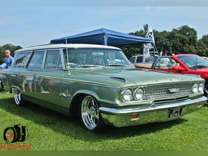Galaxie Country Sedan 1963 Long Roof Wagon For Sale (picture 8 of 12)