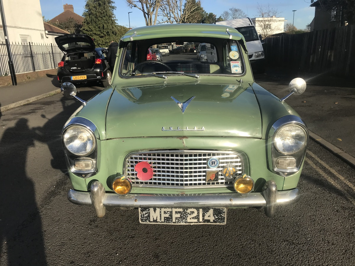 1959 Original Ford Anglia For Sale (picture 1 of 8)