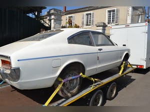 1973 Ford Granada Coupe 2Litre Pinto Barn find rust free. For Sale (picture 2 of 5)