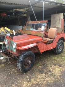Picture of 1942 Ford GPW restoration project For Sale