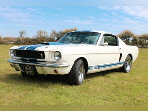 1966 Ford Mustang Fastback GT350 Recreation 289ci V8 Manual For Sale (picture 1 of 11)