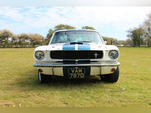 1966 Ford Mustang Fastback GT350 Recreation 289ci V8 Manual For Sale (picture 2 of 11)