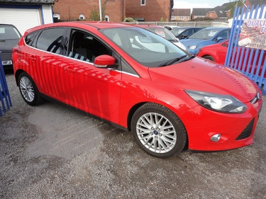 Picture of 2014 64 PLATE RED FOCUS1600cc DIESEL 6 SPEED MANAUL 94K SMART ONE For Sale
