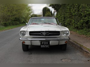 1964 Ford Mustang Convertible - 260ci V8 - Over 30k Spent For Sale (picture 2 of 19)
