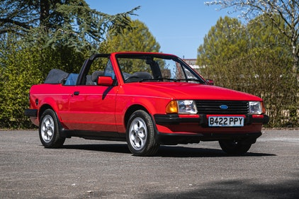Picture of 1985 Ford Escort 1.6i Cabriolet One owner For Sale by Auction