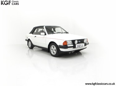 Picture of 1985 A Fabulously Original Ford Escort Cabriolet 1.6i XR3 For Sale