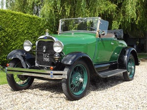 1928 Ford Model A Roadster with Mitchell overdrive For Sale (picture 1 of 28)
