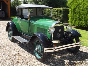 1928 Ford Model A Roadster with Mitchell overdrive For Sale (picture 13 of 28)
