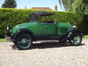 1928 Ford Model A Roadster with Mitchell overdrive For Sale (picture 14 of 28)