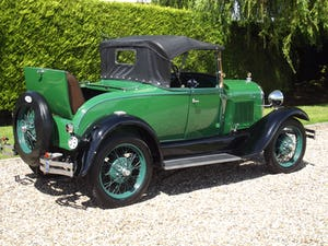 1928 Ford Model A Roadster with Mitchell overdrive For Sale (picture 18 of 28)