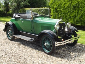 1928 Ford Model A Roadster with Mitchell overdrive For Sale (picture 25 of 28)
