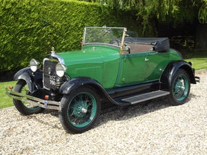 1928 Ford Model A Roadster with Mitchell overdrive For Sale (picture 27 of 28)
