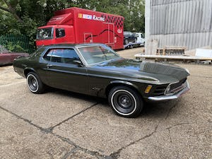 1970 Mustang Grandee Coupe With The Rare 351 4V Cleveland V8 For Sale (picture 1 of 10)