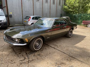 1970 Mustang Grandee Coupe With The Rare 351 4V Cleveland V8 For Sale (picture 2 of 10)