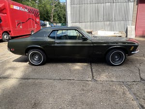 1970 Mustang Grandee Coupe With The Rare 351 4V Cleveland V8 For Sale (picture 3 of 10)