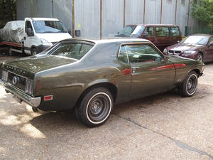 1970 Mustang Grandee Coupe With The Rare 351 4V Cleveland V8 For Sale (picture 8 of 10)