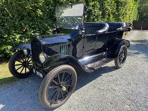 English Bodied 1919 Ford Model T Touring For Sale (picture 1 of 8)