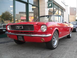 1966 Ford Mustang Convertible For Sale (picture 1 of 17)