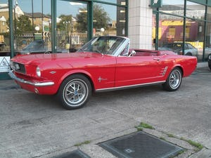 1966 Ford Mustang Convertible For Sale (picture 4 of 17)