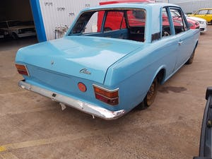 1970 Ford Cortina MK2 2 Door - Rolling Shell For Sale (picture 3 of 7)