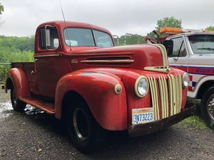 1946 Ford V8 289 Auto Jailbar Pick Up For Sale (picture 1 of 6)