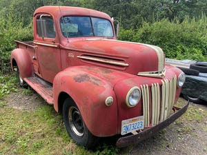 1946 Ford V8 289 Auto Jailbar Pick Up For Sale (picture 2 of 6)