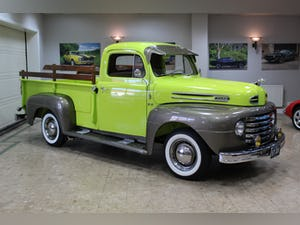1950 Ford F2 Pick-up Flathead V8 Manual - Fully Restored For Sale (picture 4 of 25)