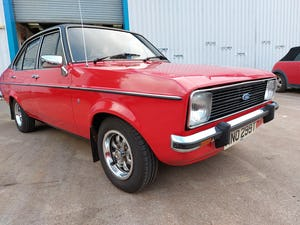 1978 Ford Escort MK2 1.3 Ghia - 53000 Mils For Sale (picture 1 of 6)