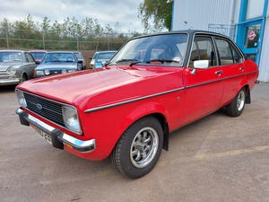 1978 Ford Escort MK2 1.3 Ghia - 53000 Mils For Sale (picture 2 of 6)